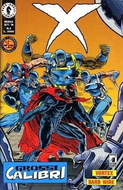 STAR COMICS - X