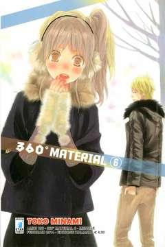 Copertina 360 MATERIAL n.6 - 360 MATERIAL, STAR COMICS