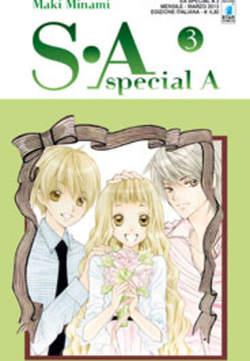 Copertina S-A SPECIAL A n.3 - S-A SPECIAL A (m17), STAR COMICS