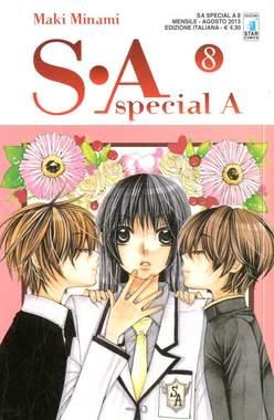 Copertina S-A SPECIAL A n.8 - S-A SPECIAL A (m17), STAR COMICS