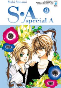 Copertina S-A SPECIAL A n.9 - S-A SPECIAL A (m17), STAR COMICS