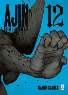 Copertina AJIN - DEMI HUMAN n.12 - AJIN - DEMI HUMAN, STAR COMICS