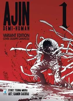 Copertina AJIN - DEMI HUMAN n.1 - AJIN - DEMI HUMAN 1, STAR COMICS