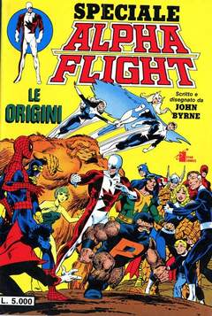 Copertina ALPHA FLIGHT n. - ALPHA FLIGHT, STAR COMICS