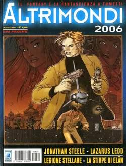 Copertina ALTRIMONDI 2006 n. - JONATHAN STEELE ANNUAL SPECIAL, STAR COMICS