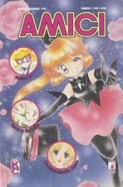 Copertina AMICI n.1 - MADEMOISELLA ANNE, LISA E SEYA, SAILOR V, STAR COMICS
