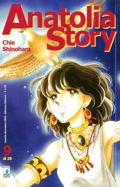 Copertina ANATOLIA STORY n.9 - ANATOLIA STORY 9, STAR COMICS