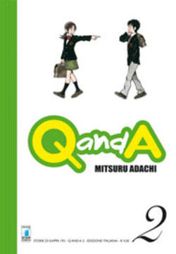 Copertina Q AND A n.2 - Q AND A 2, STAR COMICS