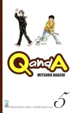 Copertina Q AND A n.5 - Q AND A 5 (m6), STAR COMICS