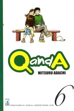 Copertina Q AND A n.6 - Q AND A 6 (m10), STAR COMICS