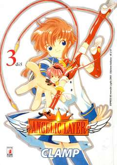 Copertina ANGELIC LAYER n.3 - ANGELIC LAYER 3, STAR COMICS