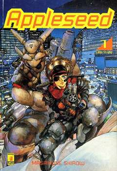 Copertina APPLESEED n.23 - SERIE COMPLETA, APPLESEED 1/4, STAR COMICS