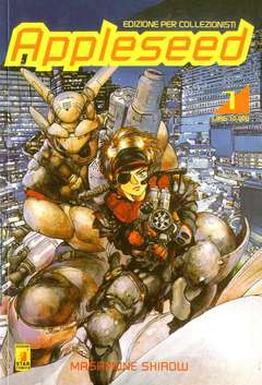 Copertina APPLESEED n.1 - APPLESEED 1, STAR COMICS