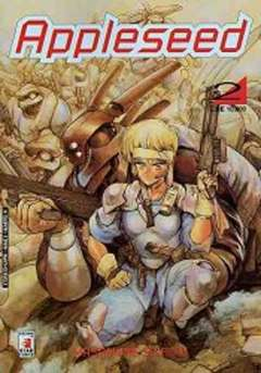 Copertina APPLESEED n.2 - APPLESEED 2, STAR COMICS