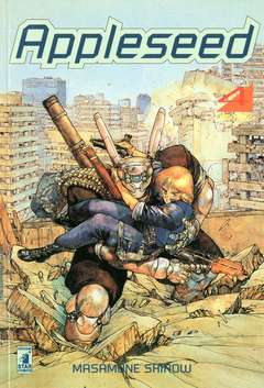 Copertina APPLESEED n.4 - APPLESEED 4, STAR COMICS