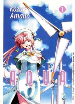Copertina AQUA n.1 - A Q U A 1, STAR COMICS