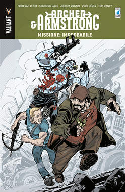 Copertina ARCHER & ARMSTRONG n.5 - MISSIONE: IMPROBABILE, STAR COMICS