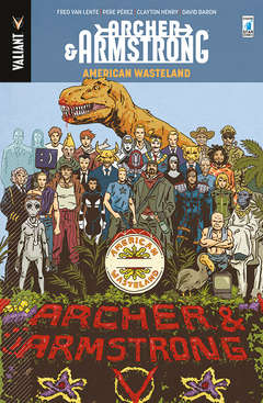 Copertina ARCHER & ARMSTRONG n.6 - MUSICA MAESTRO!, STAR COMICS