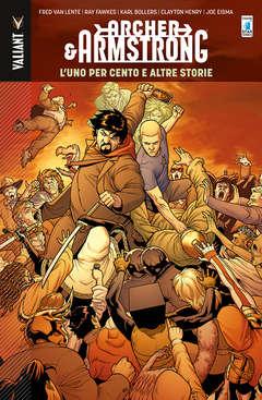 Copertina ARCHER & ARMSTRONG n.7 - L'UNO PER CENTO E ALTRE STORIE, STAR COMICS