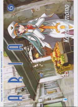 Copertina ARIA n.6 - ARIA 6, STAR COMICS
