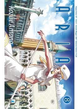 Copertina ARIA n.8 - ARIA 8, STAR COMICS