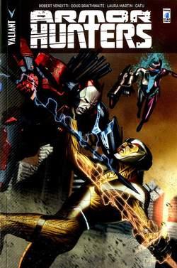 Copertina ARMOR HUNTERS n.1 - ARMOR HUNTERS, STAR COMICS
