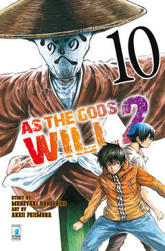 Copertina AS THE GODS WILL 2 n.10 - AS THE GODS WILL 2 10, STAR COMICS