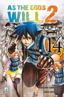 Copertina AS THE GODS WILL 2 n.14 - AS THE GODS WILL 2 14, STAR COMICS
