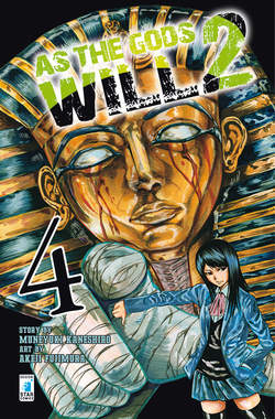 Copertina AS THE GODS WILL 2 n.4 - AS THE GODS WILL 2 4, STAR COMICS