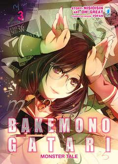 Copertina BAKEMONOGATARI MONSTER TALE n.3 - ZERO 238, STAR COMICS