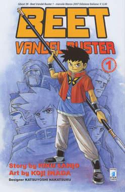 Copertina BEET THE VANDEL BUSTER n.1 - BEET THE VANDEL BUSTER, STAR COMICS
