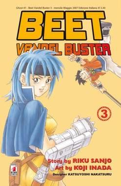 Copertina BEET THE VANDEL BUSTER n.3 - BEET THE VANDEL BUSTER, STAR COMICS