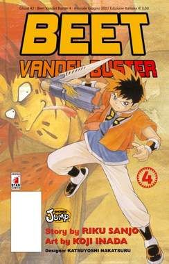 Copertina BEET THE VANDEL BUSTER n.4 - BEET THE VANDEL BUSTER, STAR COMICS