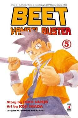 Copertina BEET THE VANDEL BUSTER n.5 - BEET THE VANDEL BUSTER, STAR COMICS