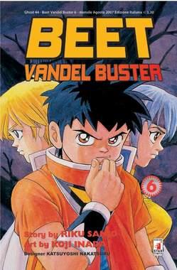 Copertina BEET THE VANDEL BUSTER n.6 - BEET THE VANDEL BUSTER, STAR COMICS