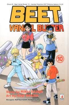 Copertina BEET VANDEL BUSTER n.10 - BEET VANDEL BUSTER, STAR COMICS