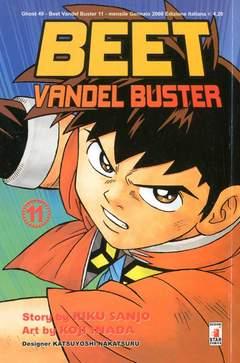 Copertina BEET VANDEL BUSTER n.11 - BEET VANDEL BUSTER, STAR COMICS