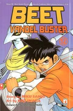 Copertina BEET VANDEL BUSTER n.12 - BEET VANDEL BUSTER, STAR COMICS