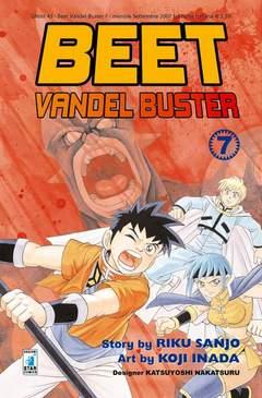 Copertina BEET VANDEL BUSTER n.7 - BEET VANDEL BUSTER, STAR COMICS