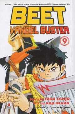Copertina BEET VANDEL BUSTER n.9 - BEET VANDEL BUSTER, STAR COMICS