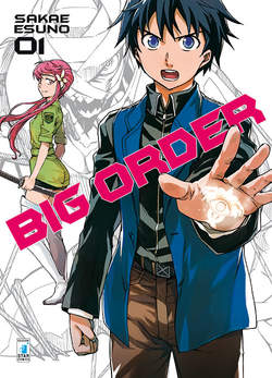 Copertina BIG ORDER (m10) n.1 - BIG ORDER, STAR COMICS