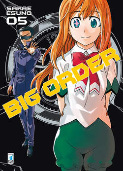 Copertina BIG ORDER (m10) n.5 - BIG ORDER, STAR COMICS