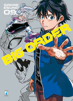 Copertina BIG ORDER (m10) n.9 - BIG ORDER 9, STAR COMICS