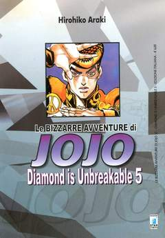 Copertina BIZZARRE AVVENTURE DI JOJO n.22 - DIAMOND IS UNBREAKABLE 5, STAR COMICS