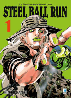 Copertina BIZZARRE AVVENTURE DI JOJO n.51 - STEEL BALL RUN, STAR COMICS