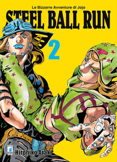 Copertina BIZZARRE AVVENTURE DI JOJO n.52 - STEEL BALL RUN, STAR COMICS