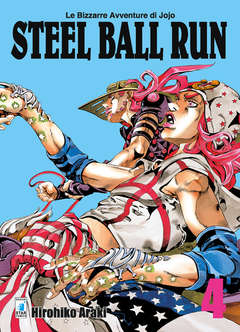 Copertina BIZZARRE AVVENTURE DI JOJO n.54 - STEEL BALL RUN, STAR COMICS