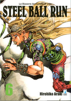 Copertina BIZZARRE AVVENTURE DI JOJO n.56 - STEEL BALL RUN (m16), STAR COMICS