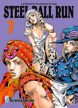 Copertina BIZZARRE AVVENTURE DI JOJO n.57 - STEEL BALL RUN, STAR COMICS