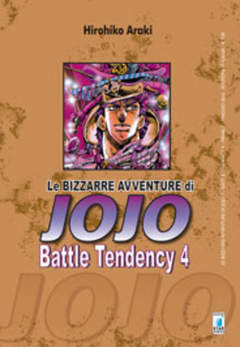 Copertina BIZZARRE AVVENTURE DI JOJO n.7 - BATTLE TENDENCY 4, STAR COMICS